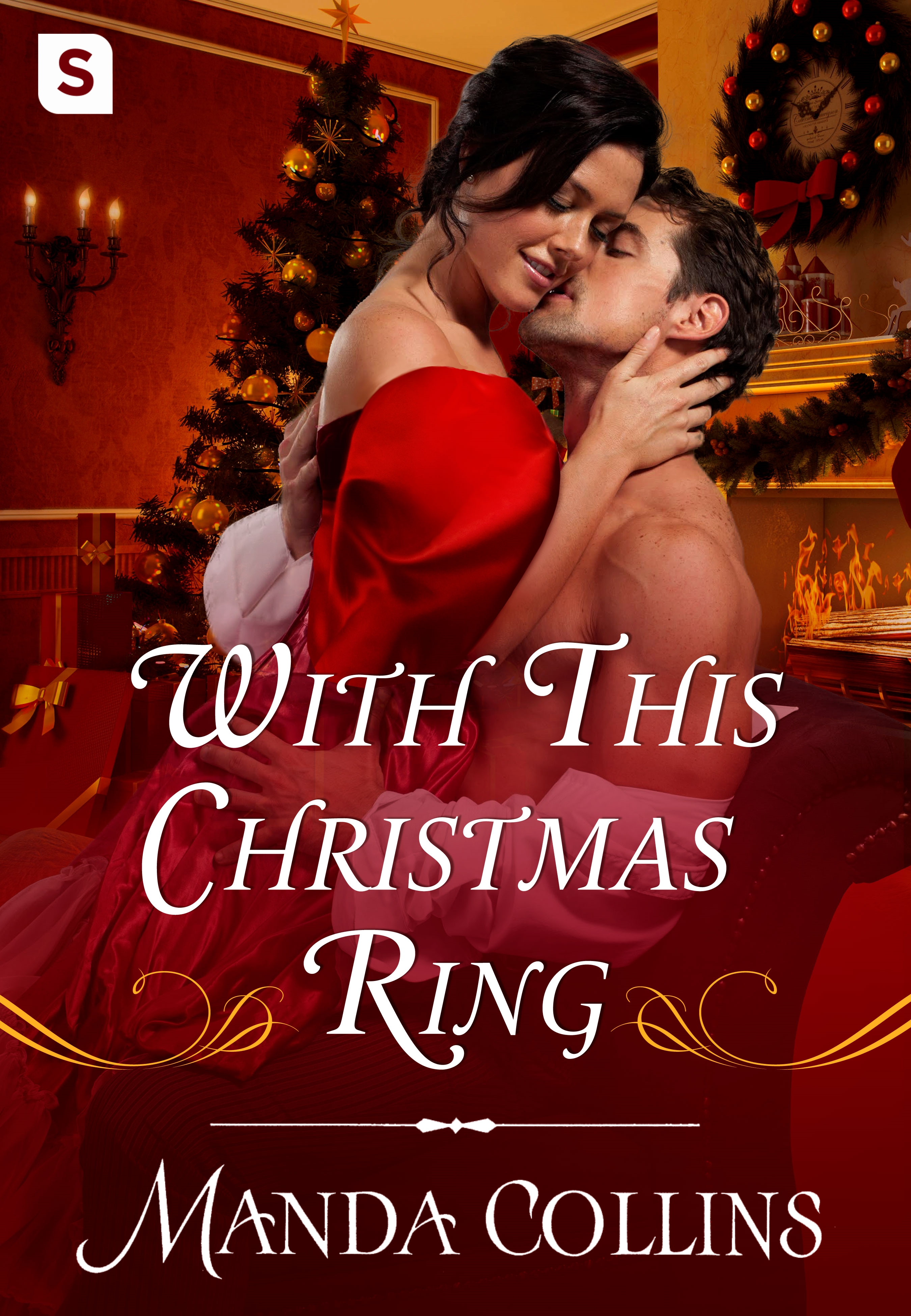 Christmas Romance Book Covers ~ With this christmas ring manda collins owlish books